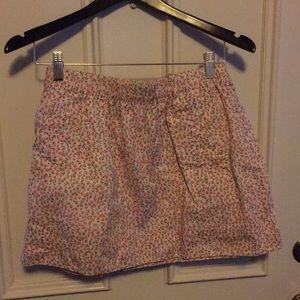 Jcrew summer lined skirt
